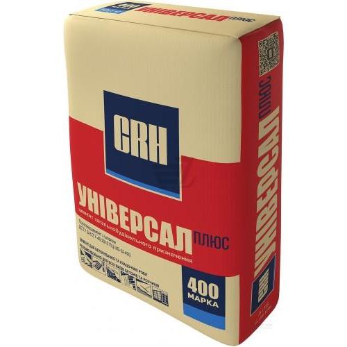 CRH Цемент М400 Универсал плюс 25 кг